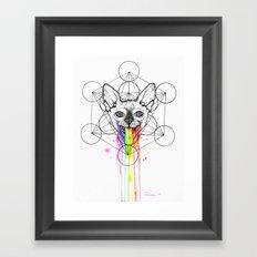 Psica Logo Framed Art Print