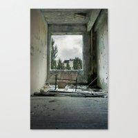 Chernobyl - номер I… Canvas Print