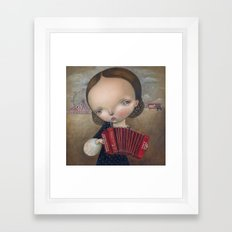 Love song Framed Art Print