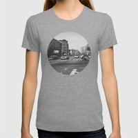 New York City - Upper West Side Womens Fitted Tee Tri-Grey SMALL