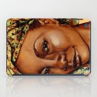 Madame Brouette iPad Case