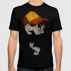 Truckin' Mens Fitted Tee Black SMALL