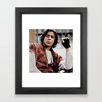 The Criminal Framed Art Print