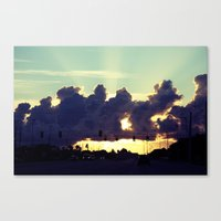 Road to a better place  Canvas Print