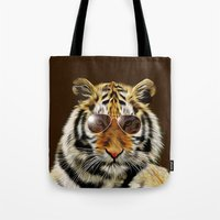 In the Eye of the Tiger Tote Bag