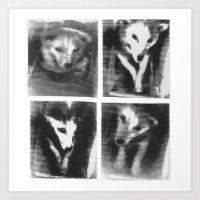 Laika! All Hail The Firs… Art Print