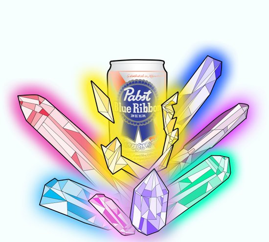 Party Crystals Art Print