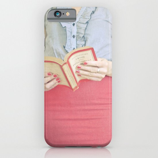 Crime & Punishment iPhone & iPod Case