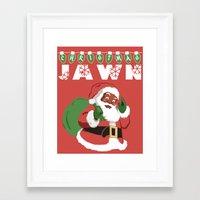 Christmas Jawn Framed Art Print
