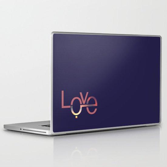 Love in English and Arabic Laptop & iPad Skin