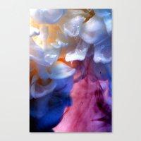 Milk Petals Canvas Print