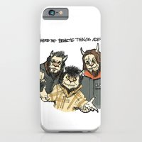 iPhone & iPod Case featuring Where The Beastie Things Are by Derek Salemme