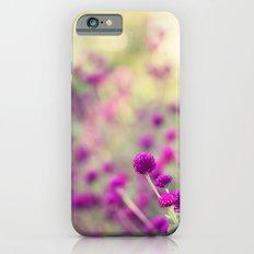 Purple Puffs Slim Case iPhone 6s