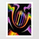 Rainbow Creations 3 Art Print