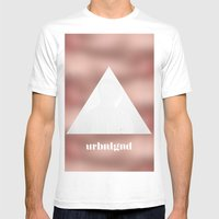 URBNLGND Mens Fitted Tee White SMALL