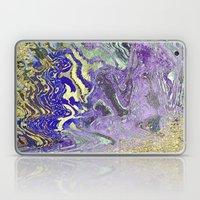 Abelone & Gold Laptop & iPad Skin
