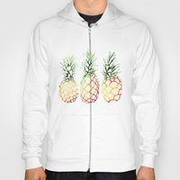 Burlap Pineapples Hoody