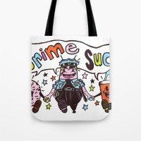 Crime!!! Tote Bag