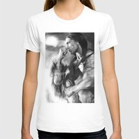native american T-shirts featuring Native American  by Thubakabra