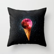 Sweet Side Of The Moon Throw Pillow