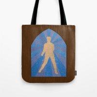 St Elvis Tote Bag