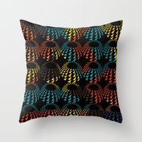 The space eyes Throw Pillow