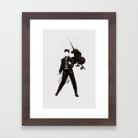 King of Clubs Framed Art Print