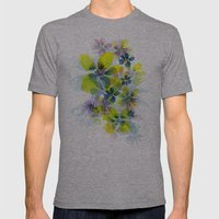 Fireworks Mens Fitted Tee Athletic Grey SMALL