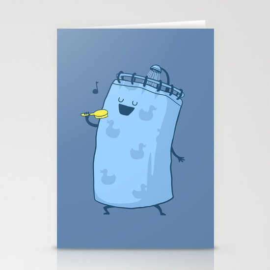 Singing In The Shower? Stationery Card