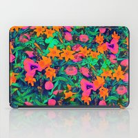 CRAZY FLOWERS iPad Case