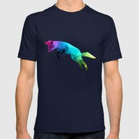 Glass Animal - Flying Fo… Mens Fitted Tee Navy SMALL