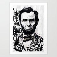 Lincoln A.D. 2012 Art Print