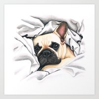 French Bulldog - F.I.P. … Art Print