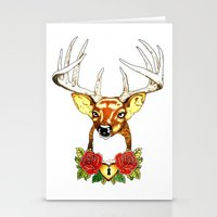 Oh Deer. Stationery Cards