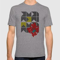 Red Herring Mens Fitted Tee Athletic Grey SMALL