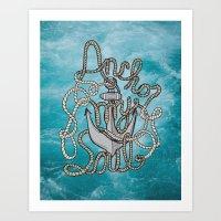 Anchor My Soul (2nd Edit… Art Print
