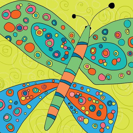 Butterfly Groove 4 Art Print