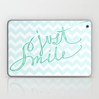 Just Smile - Hand Letter… Laptop & iPad Skin