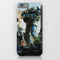 Mech Behind A Back Alley iPhone 6 Slim Case