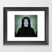 Lament of the Demon Framed Art Print