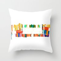 colors.2 Throw Pillow