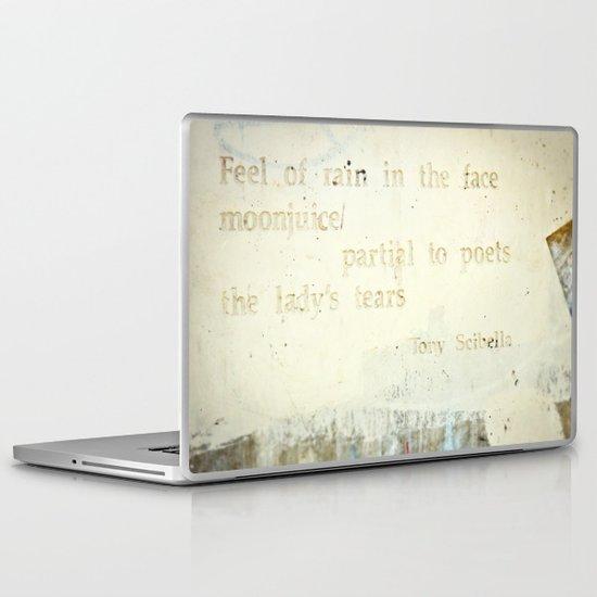 Writing on the Wall [1] Laptop & iPad Skin