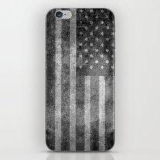 Old Glory With Worn Grun… iPhone & iPod Skin