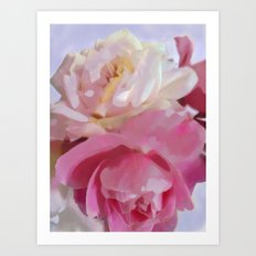 Poster Pink Art Print