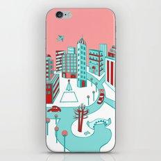 Winter City iPhone & iPod Skin