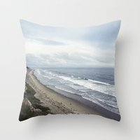 Central California  Throw Pillow