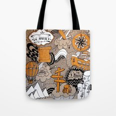The Journey Is Part Of The Dream  Tote Bag