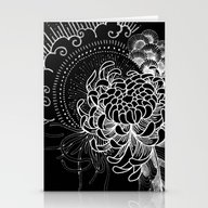 Cosmic Chrysanthemum Stationery Cards