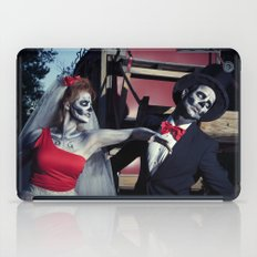 Day Of The Dead Wedding Day Argument iPad Case