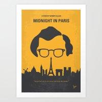 No312 My Midnight In Par… Art Print